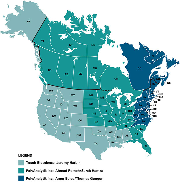 GPC sales territory map